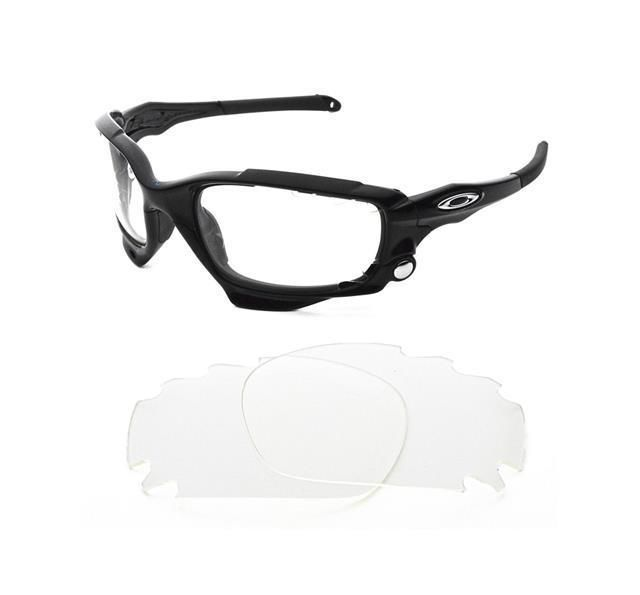 New Transparent Clear Vented Custom Lens For Oakley