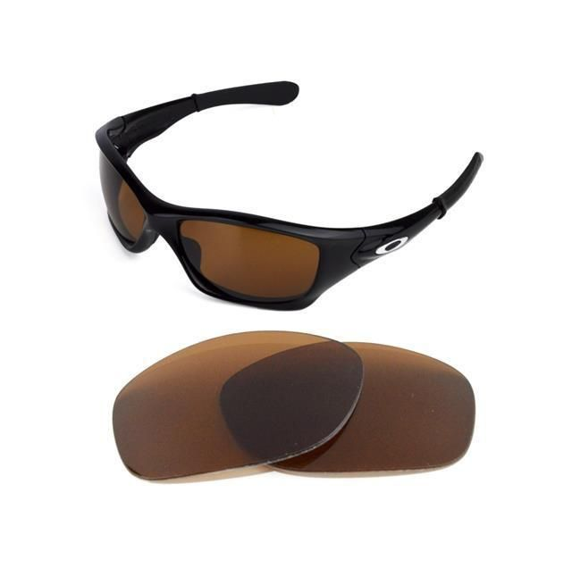 86c7083a44 NEW POLARIZED BRONZE REPLACEMENT LENS FOR OAKLEY PIT BULL SUNGLASSES