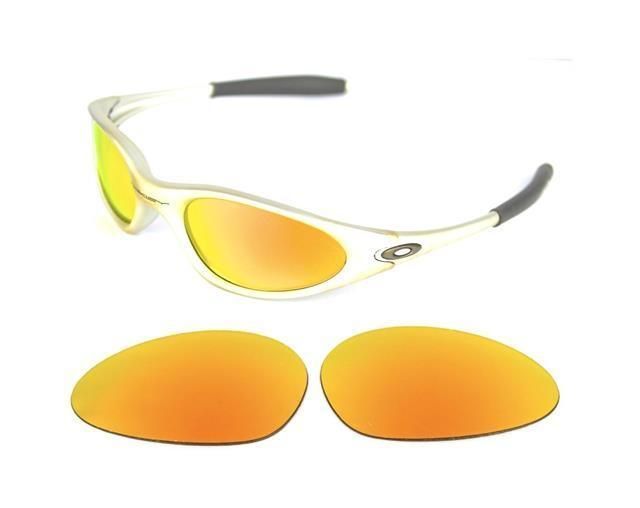 79b784447ae NEW POLARIZED CUSTOM FIRE RED LENS FOR OAKLEY MINUTE 1.0 SUNGLASSES