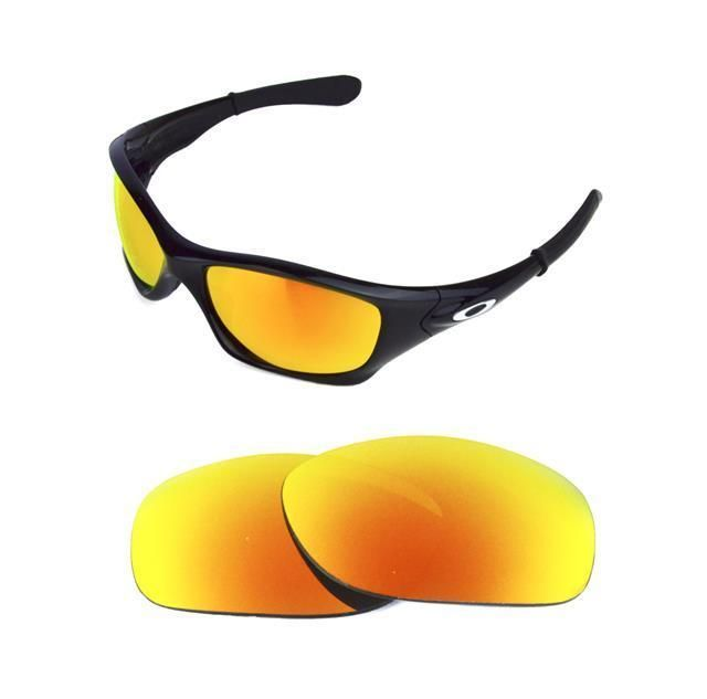 99331d52ad NEW POLARIZED CUSTOM FIRE RED LENS FOR OAKLEY PIT BULL SUNGLASSES