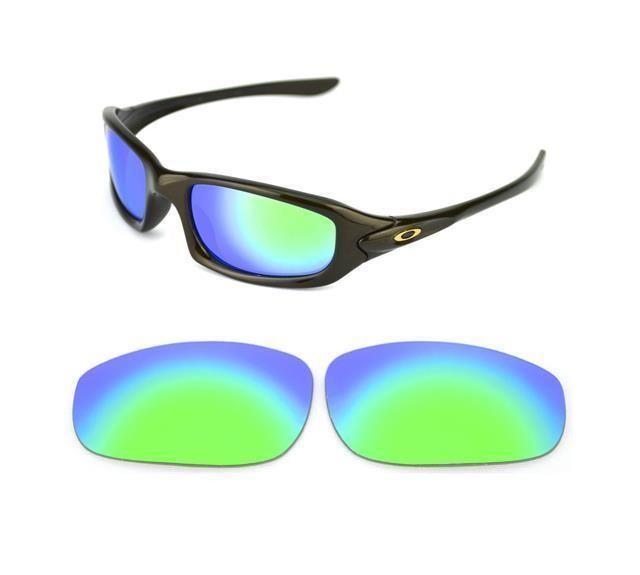 dd0a0ae58f NEW POLARIZED CUSTOM GREEN LENS FOR OAKLEY FIVES 4.0 (2009) SUNGLASSES
