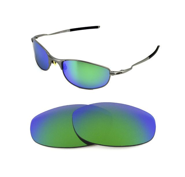 97b4d75f15 NEW POLARIZED CUSTOM GREEN LENS FOR OAKLEY TIGHTROPE SUNGLASSES