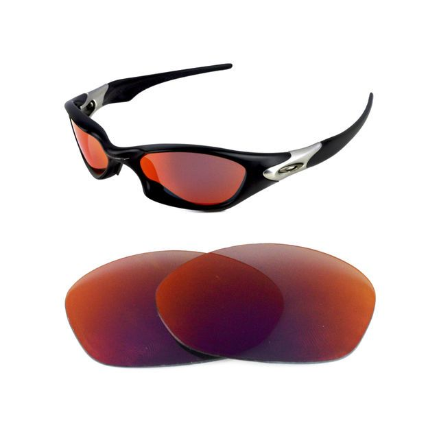 31f8f7c72c NEW POLARIZED CUSTOM RED LENS FOR OAKLEY VINTAGE VALVE SUNGLASSES
