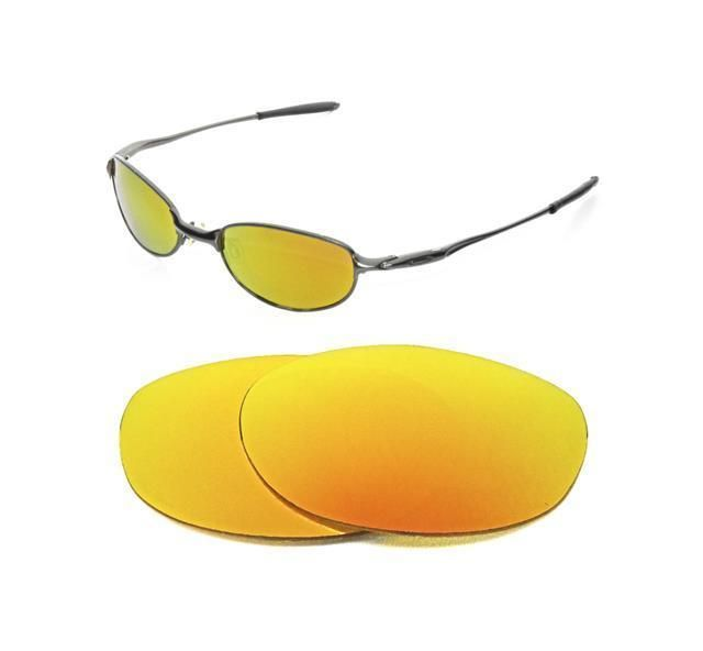 c73772bbb0 NEW POLARIZED FIRE RED REPLACEMENT LENS FOR E-WIRE 2.1 SUNGLASSES