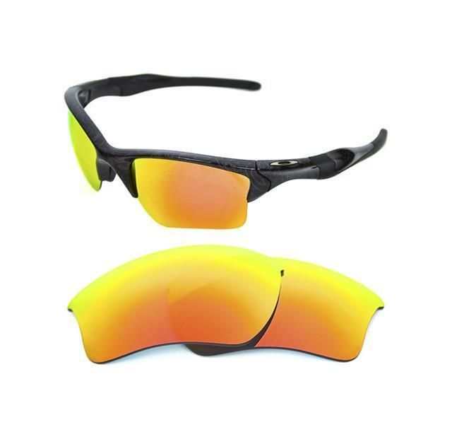 f7964b8ea6 NEW POLARIZED FIRE RED REPLACEMENT XL LENS FOR OAKLEY HALF JACKET 2.0  SUNGLASSES