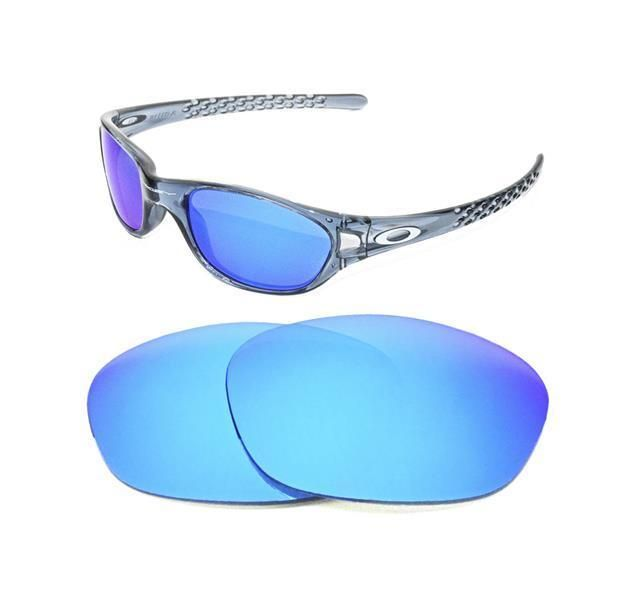48b0ec59026bd4 NEW POLARIZED ICE BLUE REPLACEMENT LENS FOR OAKLEY FIVES 1.0 SUNGLASSES