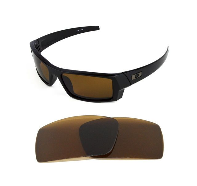 be6300f836 NEW POLARIZED REPLACEMENT BRONZE LENS FOR OAKLEY GASCAN S SUNGLASSES
