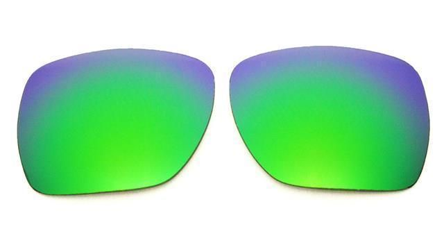 2071e64bbe NEW POLARIZED REPLACEMENT GREEN LENS FOR OAKLEY PLAINTIFF SQUARED SUNGLASSES