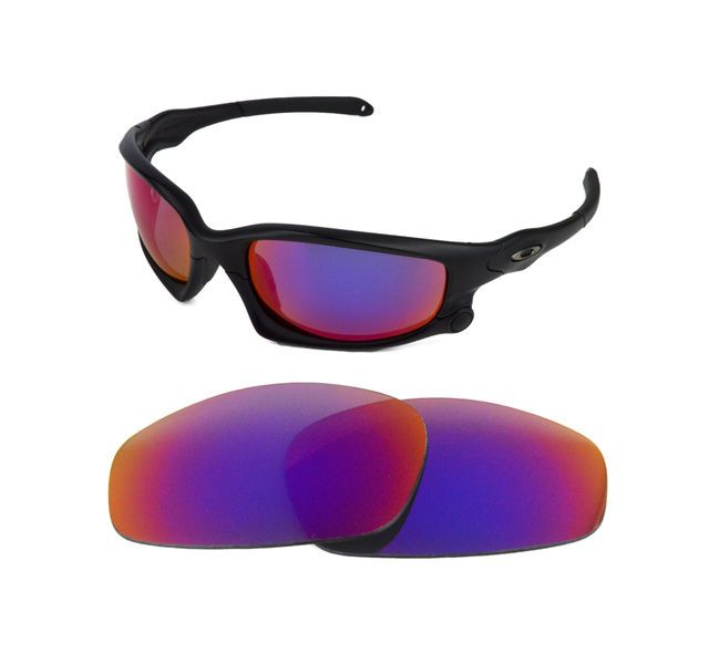 562cf65963 NEW POLARIZED REPLACEMENT LIGHT RED LENS FOR OAKLEY SPLIT JACKET SUNGLASSES