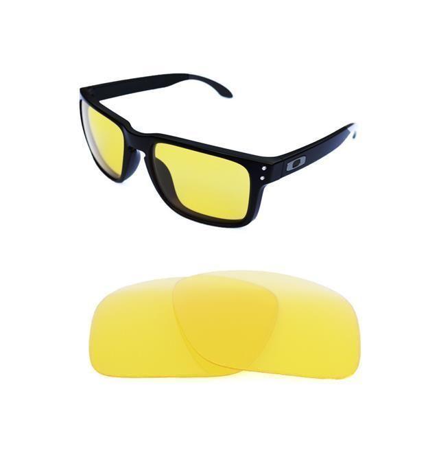 b2b89cc8fe8 NEW POLARIZED REPLACEMENT NIGHT VISION LENS FOR OAKLEY HOLBROOK SUNGLASSES