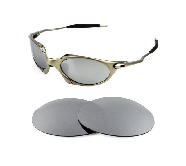 461c12971c NEW POLARIZED REPLACEMENT SILVER ICE LENS FOR OAKLEY ROMEO 1.0 SUNGLASSES